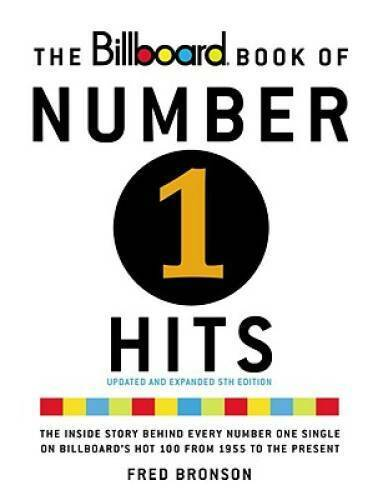 The Billboard Book of Number One Hits - Paperback By Bronson, Fred - VERY GOOD