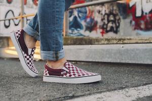 Vans CLASSIC SLIP ON Checkerboard Rumba