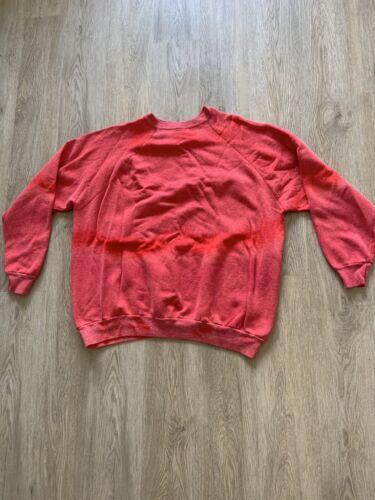 Weird Faded Crewneck Sweatshirt VINTAGE FADED RED