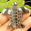 Details about  /Black Hematite Carved Sea Turtle Pendant Bead 43x43x7mm FOR Jewelry Making