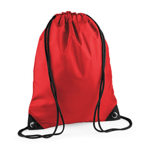 Premium Gym Bag Gymsac Sack Water Resistant Sports Drawstring School PE BG010