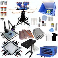 Diy Equipment Big Set Screen Printing Kit Full Set 6 Color T Shirt Press Set Hot