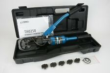 Temco Hydraulic Indent Lug Crimper Tool Electrical Battery Terminal Cable Wire