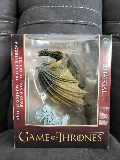 Game of Thrones Rhaegal Dragon Deluxe Action Figure McFarlane Toys NEW SEALED