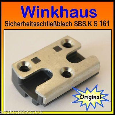 Winkhaus Sicherheitsschließblech  SBS.K 61 NEU S 61 Sicherheits Inkl Schrauben