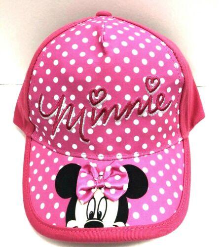 Disney Mickey /& Minnie Boys Girls Cartoon Character Baseball Cap Hat Toddler