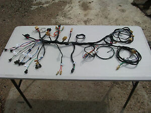 new wiring loom wire harness kit for hr holden engine and image is loading new wiring loom wire harness kit for hr