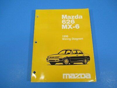 1996 Mazda 626 MX-6 Wiring Diagram Manual General ...