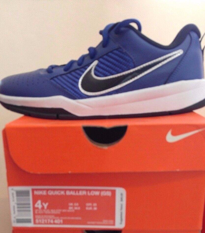 c6cda0a428d Nike Nike Nike Quick Baller Low top (GS) Youth Shoe Blue c3a29d ...