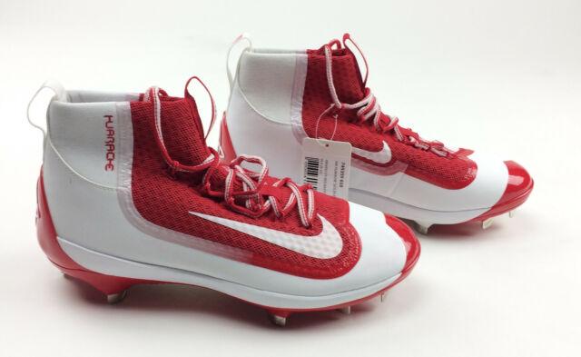 Nike Huarache Baseball Cleats 2k Filth Elite Mid Mens 9 Shoes Red White 749359