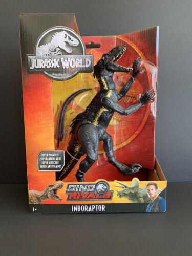 JURASSIC WORLD Dino rivali indoraptor Dinosauro ACTION FIGURE GIOCATTOLO IN SCATOLA SIGILLATA