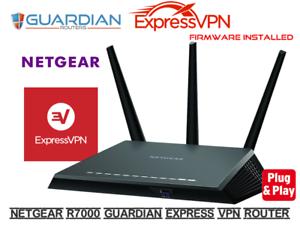 Netgear Nighthawk R7000 Express NEXT GEN VPN Router Full Express VPN Firmware