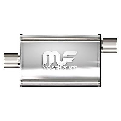 "MAGNAFLOW 4"" INCH STAINLESS PERFORMAMCE EXHAUST MUFFLER SKYLINE WRX 2JZ GTR 1JZ"