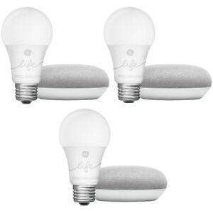 Google-Home-Mini-Smart-Light-Starter-Kit-Chalk-3-Pack-GA00518-US
