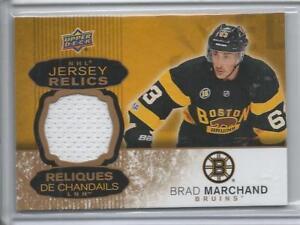 cefe1da96 2017-18 Brad Marchand Tim Hortons Canada NHL Jersey Relics Card  J ...