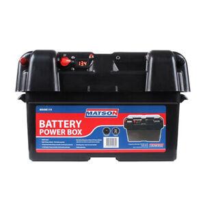Matson-Power-Battery-Box-AGM-Deep-Cycle-Dual-System-12V-Isolator-USB