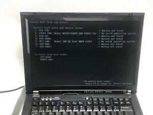 Lenovo-ThinkPad-T400-14-1in-80GB-2-27GHz-4GB-Ram-Laptop-J4