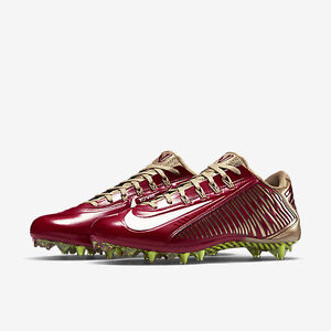 quality design 5d63a d5f81 Details about NIKE VAPOR CARBON 2.0 ELITE TD PF FOOTBALL CLEATS 49ERS RED  GOLD MENS SIZE 12.5