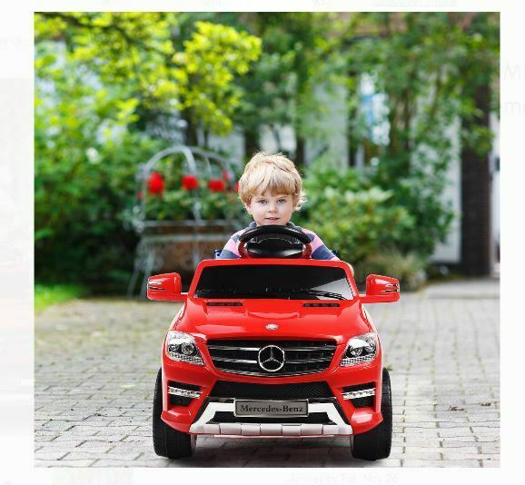 6v mercedes battery power kids ride on car toy wheels w remote control mp3 red for sale online ebay