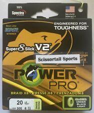 Power Pro Super 8 Slick V2 Onyx 15 lb 300 yards