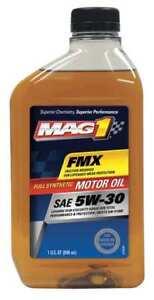 MAG 1 MG53FLPL Full Synthetic Motor Oil, 1 Qt., 5W-30