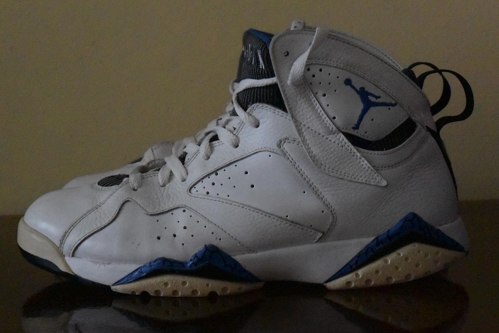 Nike Air Jordan 7 VII Retro DMP Orlando Magic White bluee 304775-161 Sz. 11.5