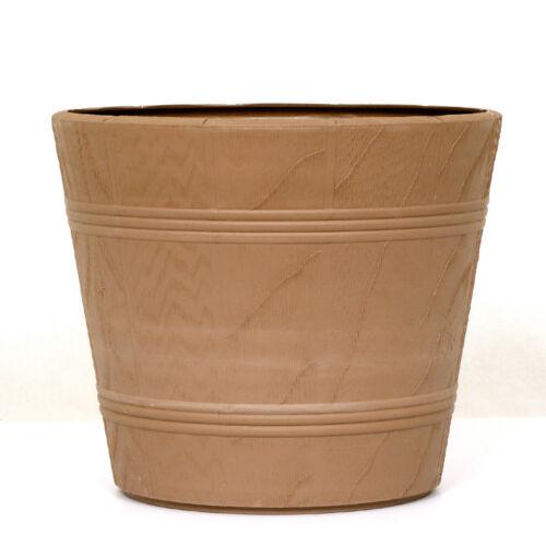Fiori vaso fioriera Elba con paracolpi 15cm-42cm Marrone