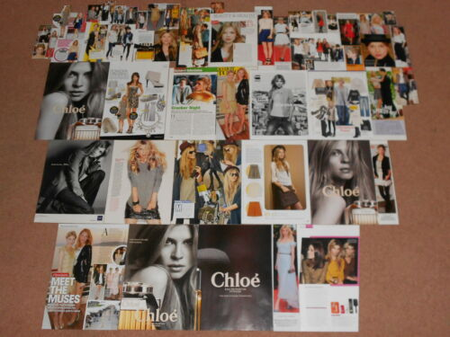 50+ CLEMENCE POESY Magazine Clippings