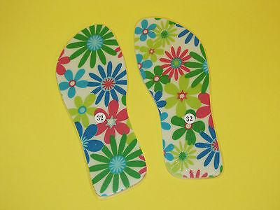Topless Slippers Kinder Klebeschuhe ohne Flop und ohne Flip Sommerspaß :-)