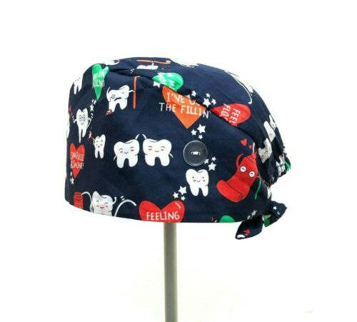 Colourful printed Unisex Surgical hat