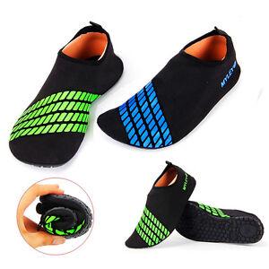 5b4ac395d27078 Slip on Men Women Surf Aqua Beach Water Socks Shoes Sport Yoga ...