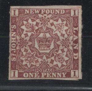 G129735-NEWFOUNDLAND-CANADA-SG-1-MINT-NO-GUM-CV-210