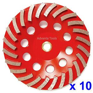 "7/"" Turbo Diamond Cup Wheel for Concrete Stone Masonry Grinding 7//8""-5//8/"" Arbor"