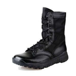 Men-Military-Tactical-Ankle-Boots-Desert-Combat-Army-Hiking-Shoes-Boots-Light-Ne