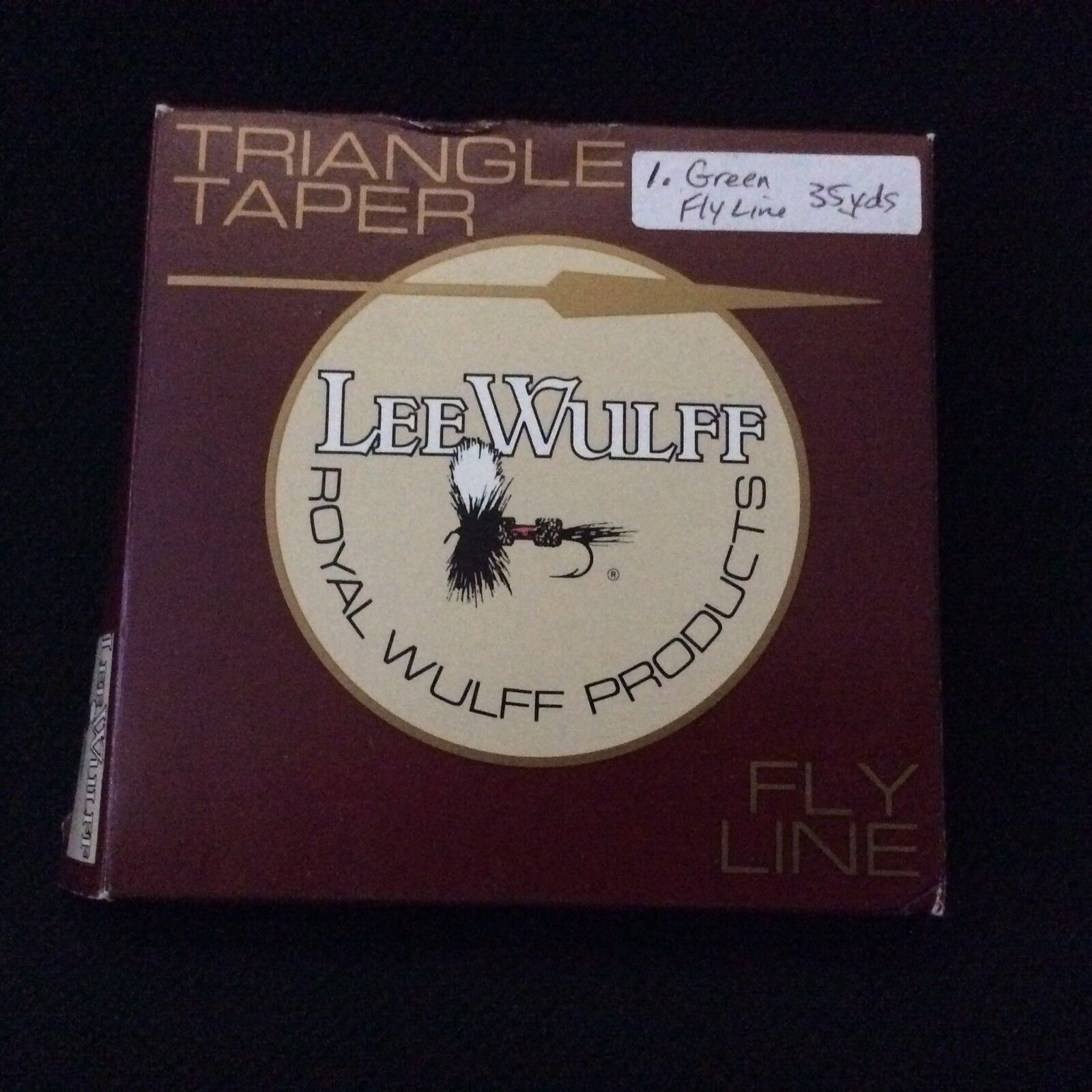 Royal Wolff Green Triangle Taper Floating Line 35 Yards NEW HCR 1 Box 70