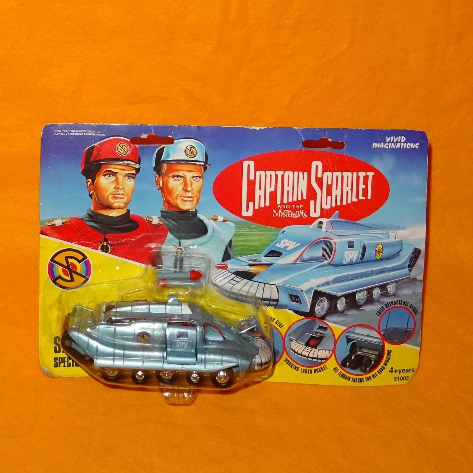 Vivid Imaginations 1993 Captain Scarlet SPV spettro Inseguimento Veicolo MOC cardate