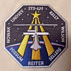 Space-Shuttle-Mission-STS-121-NASA-Patch-2006-Discovery-Embroidered-cloth-new
