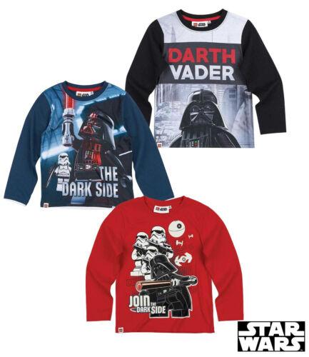 NEU * Größe 104 116 128 140 Lego Star Wars Langarmshirt