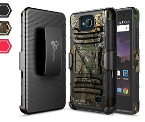 uk availability 9ac0e 12a29 Details about For ZTE Majesty Pro/Majesty Pro Plus/Tempo Rugged Belt Clip  Holster Case Cover