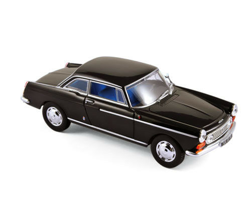 Black 1:43 NOREV 474431 Peugeot 404 Coupé 1967
