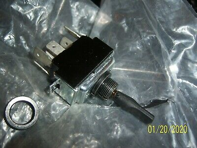 Pactrade Marine Plastic Ignition Starter Switch 3 Terminals 3 Positions