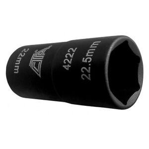 4222 LUG NUT FLIP SOCKET 22mm x 22.5mm FOR DODGE WITH CAPPED LUG NUTS