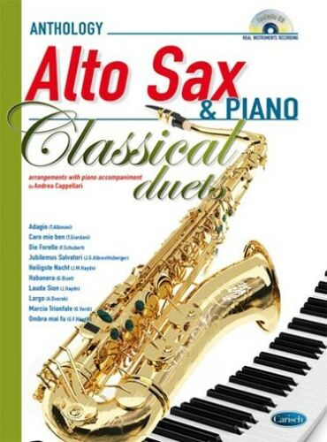 CD Classical Duets Recueil Saxophone Alto et Piano Alto Saxophone//Piano