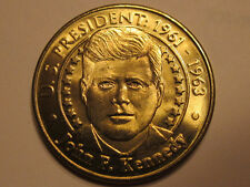 US President John F. Kennedy Sunoco Presidential Coin Series 2000 token
