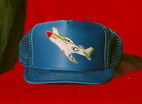 P-51 Mustang Patch Hat (royal Blue)
