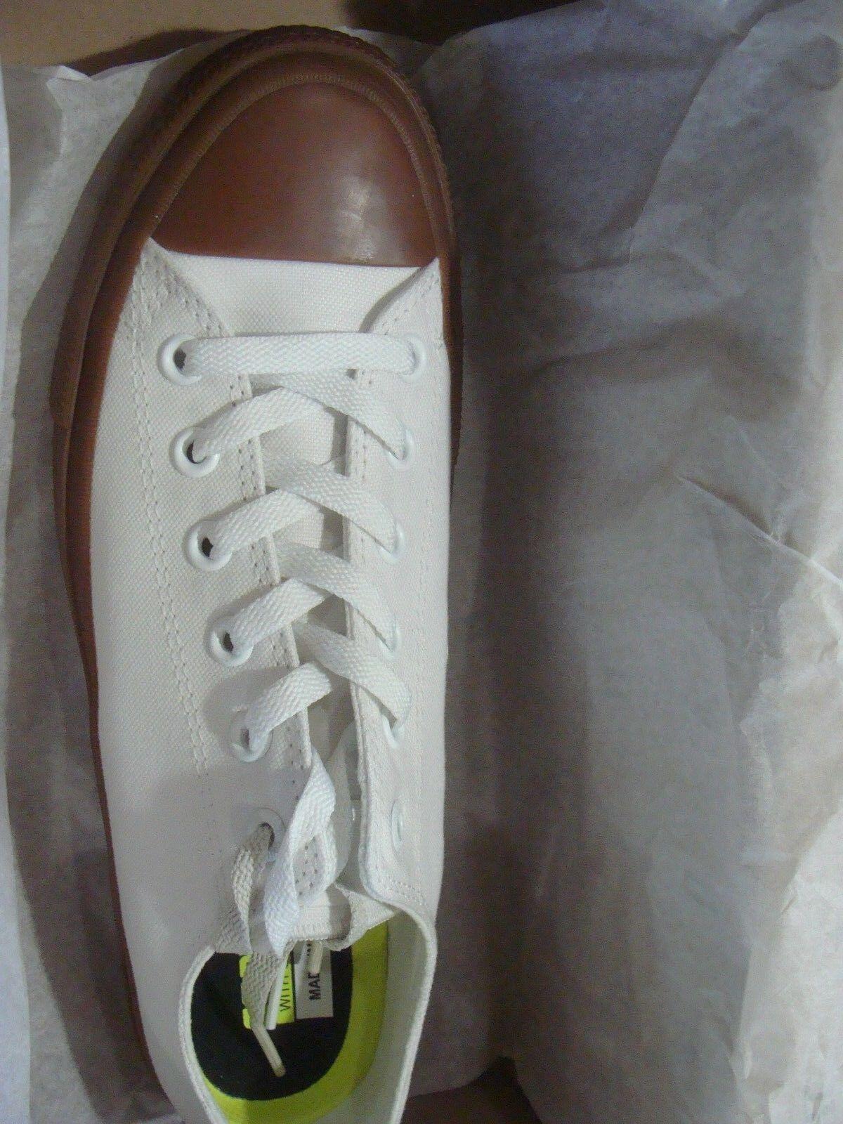Uomo Converse Chuck II Gum Low Top Top Top Canvas Trainers 155502C Dimensione 515 8433d6
