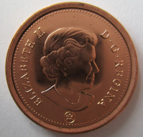 2012 CANADA 1¢ BRILLIANT UNCIRCULATED NON MAGNETIC PENNY COIN