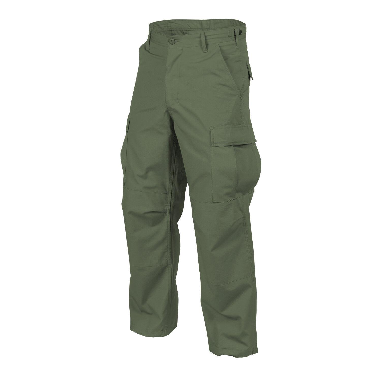 Helikon TEX US BDU Outdoor tempo libero Pantaloni Army Pants Verde Oliva Mr MEDIUM REGULAR