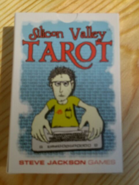 Silicon Valley Tarot - Steve Jackson Games - brand new - Thomas Scoville