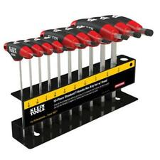 Klein Tools JTH610E SAE Journeyman T-Handle Set with Stand 10-Piece